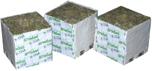 Rockwool grow cubes